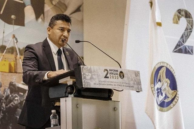 Gobierno federal investiga a Fiscal de Guanajuato
