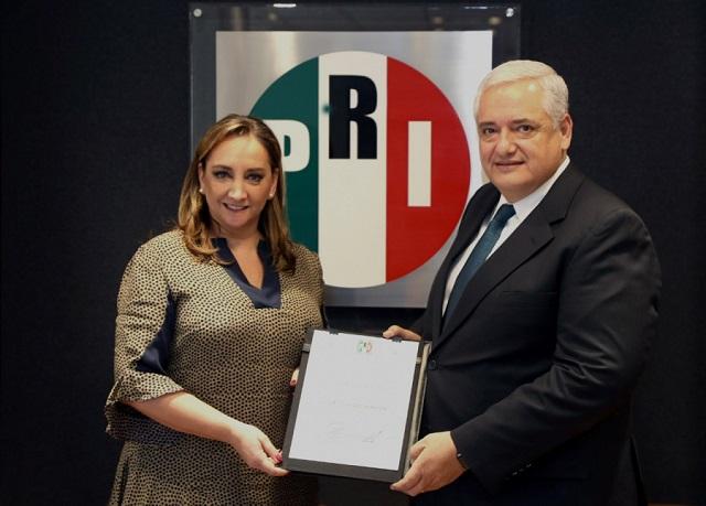 Nombran a Luis Antonio Godina al frente de las Finanzas del PRI