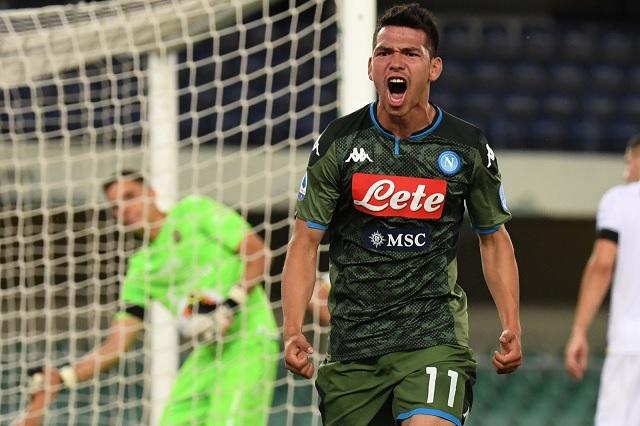 Chucky Lozano anota de último minuto en victoria del Napoli