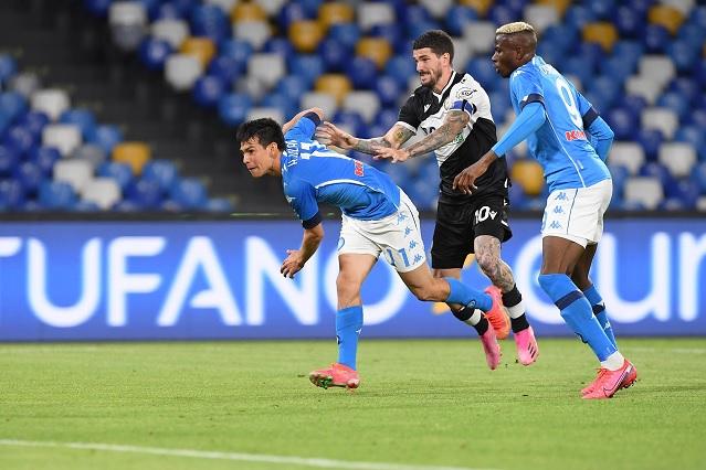 Chucky llega a 11 goles en victoria del Napoli sobre Udinese