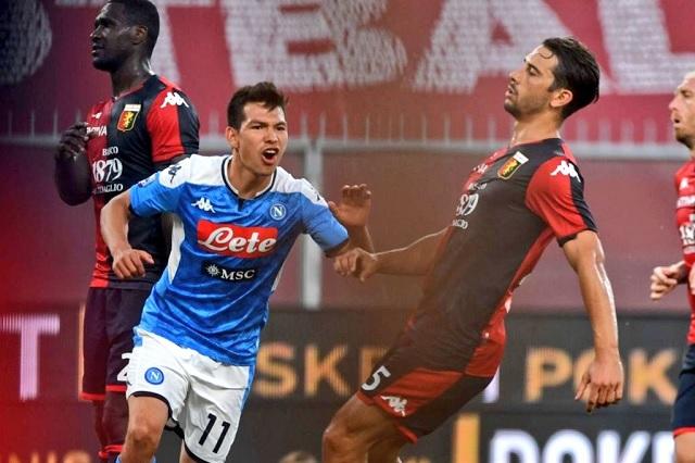 ¡Héroe! Chucky Lozano entra de cambio y da la victoria al Napoli