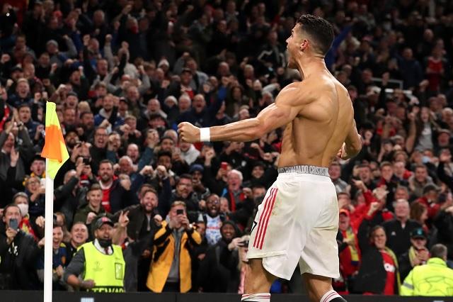 ¡De último minuto! Cristiano le da el triunfo al United en Champions