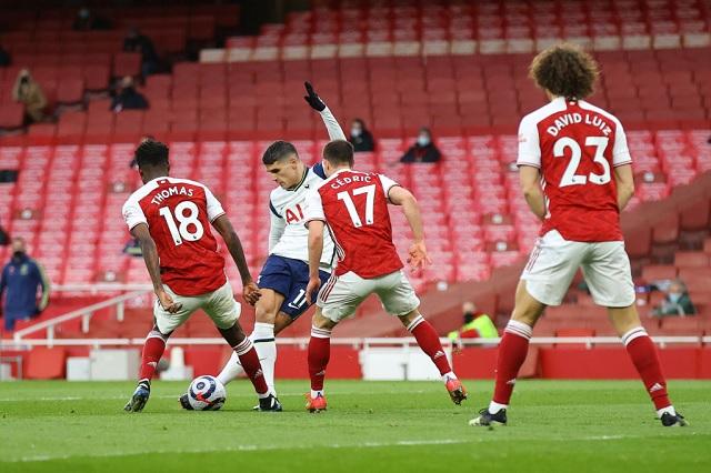 Erik Lamela, posible candidato al Puskás por golazo ante Arsenal: Video