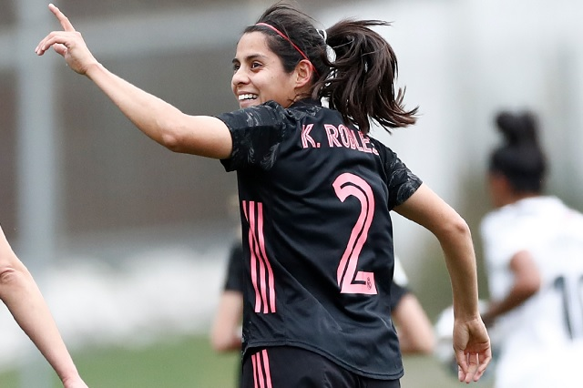 Mexicana Kenti Robles consigue su primer gol con Real Madrid