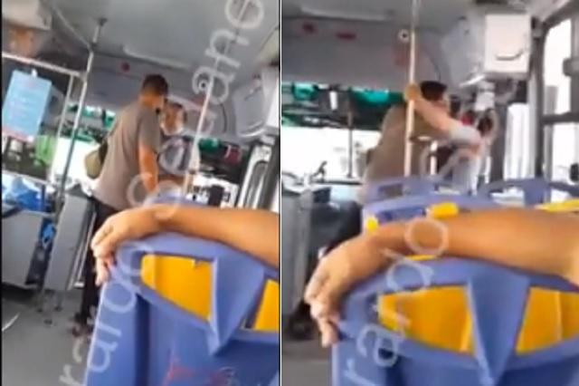 Chofer de Jalisco golpea y baja a pasajera por no llevar cambio