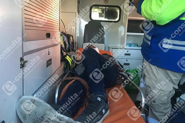 Vigilante de secundaria en Puebla resulta herido al frustrar robo