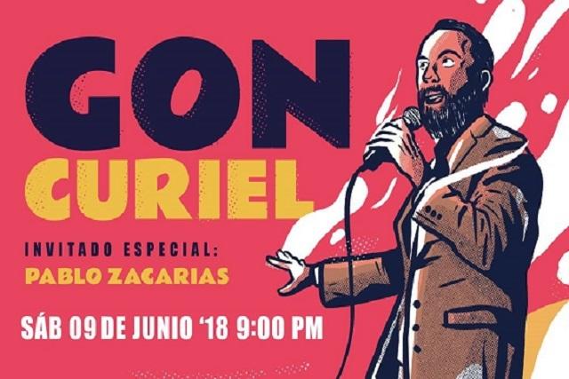 Gon Curiel llega a Puebla con su show de stand up