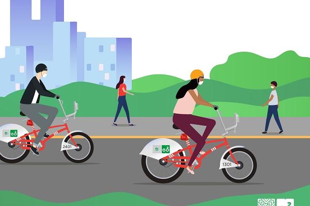 Google Maps brindará información para viajes en bicicleta
