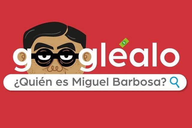 Esto es lo que pasa si buscas a Luis Miguel Barbosa en Google