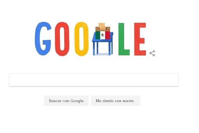 Google dedica doodle este 1 de julio a las elecciones de México