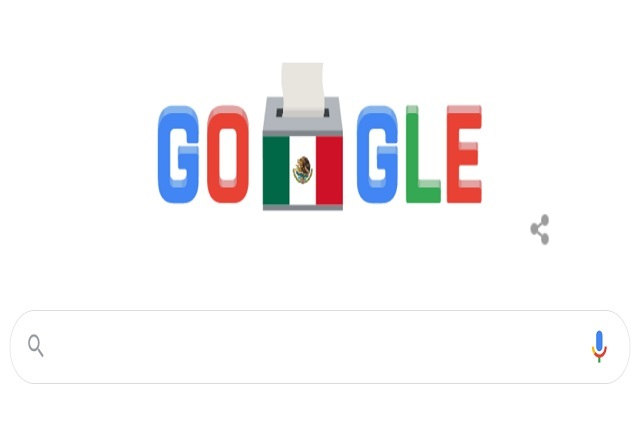 Google crea doodle por elecciones en México