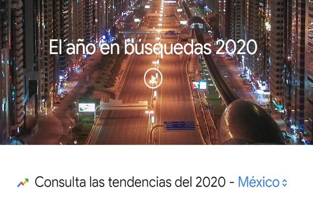 ¿Qué le preguntaron los mexicanos a Google en 2020?