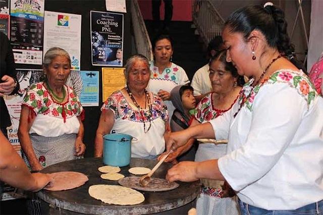 Con preparativos de 3 días y labor colectiva hacen Festival de la Gordita