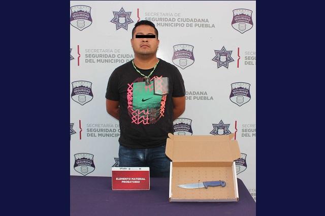 Policía de Puebla capital atrapa a líder de banda delictiva