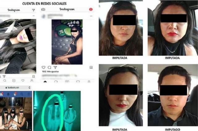 Caen 3 mujeres acusadas de seducir hombres en Tinder para asaltarlos
