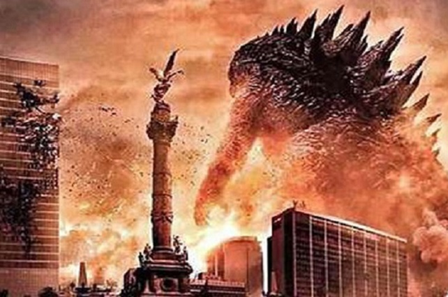 Pagó la CDMX 10 mdp por aparecer en créditos de la película de Godzilla