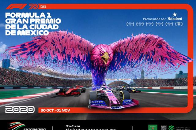 Posponen hasta 2021 el Gran Premio de México de la Fórmula 1
