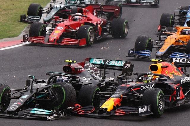 Hamilton recupera liderato de F1 en otra carrera accidentada