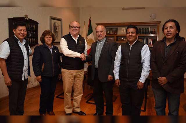 Presenta Graco Ramírez al nuevo rector de la Universidad de Morelos