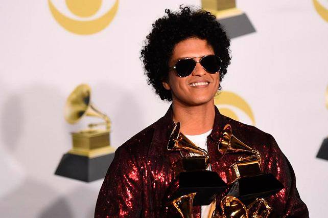 Lista de ganadores: Bruno Mars triunfa en la noche del Grammy 2018