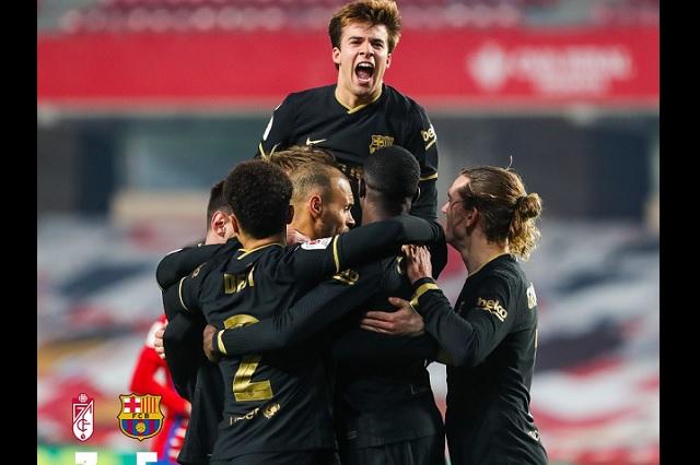 ¡Partidazo! Barcelona da la vuelta y avanza a semifinales en Copa del Rey