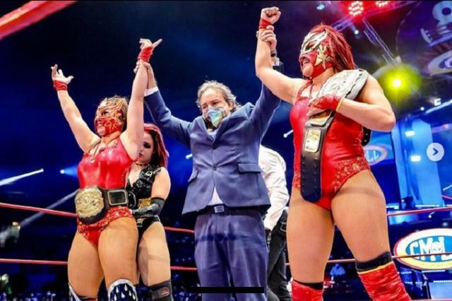 CMLL presenta su primer 'Grand Prix' femenil en la Arena México