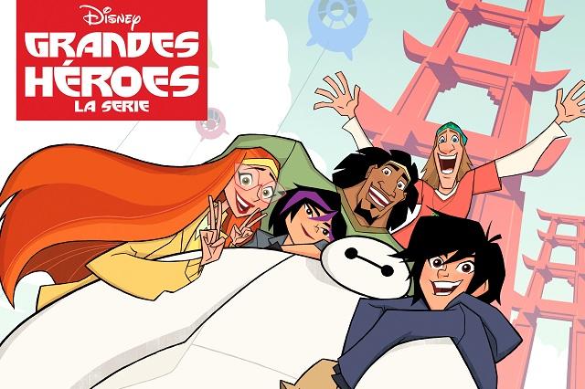 Disney XD presenta un vistazo de Grandes Héroes: La serie