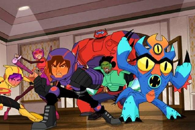 Disney XD estrena la tercera temporada de Grandes Héroes: la serie