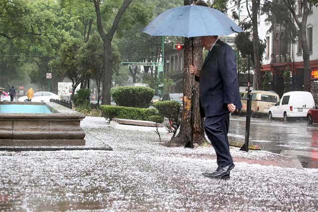 Pronostica el Meteorológico granizada en el Valle de México