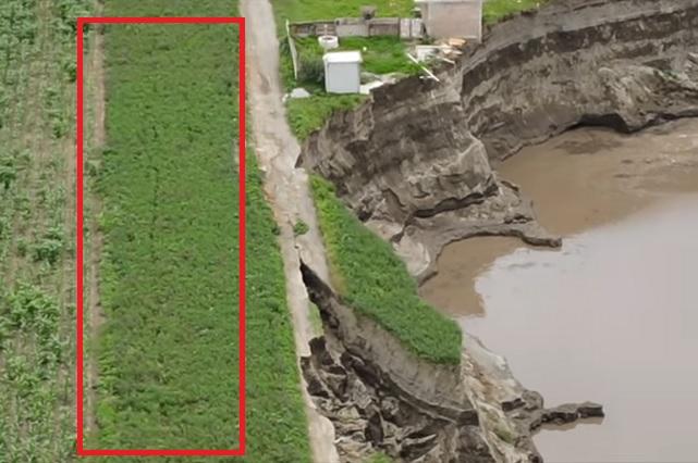Video: Con dron captan grietas cerca del socavón que se haría más grande