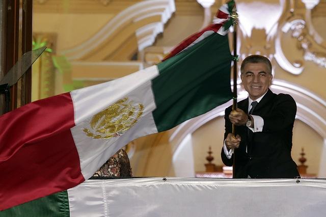 Da Gali su último Grito de Independencia en Puebla