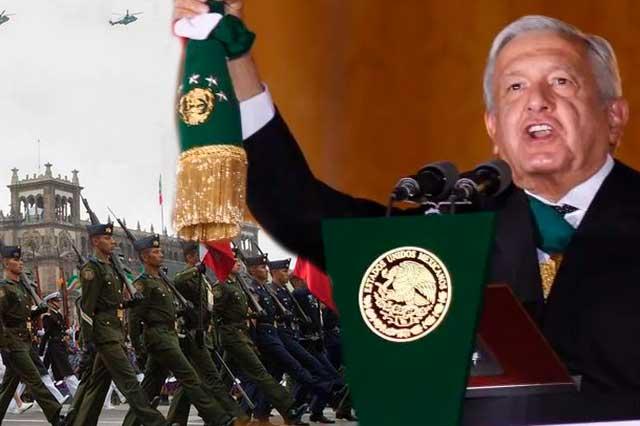 AMLO confirma que dará el Grito de Independencia