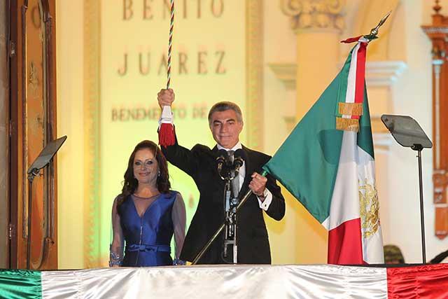 Encabeza Gali el 207 aniversario de la Independencia de México