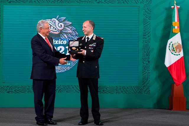 Guardia Nacional recuperará piezas arqueológicas