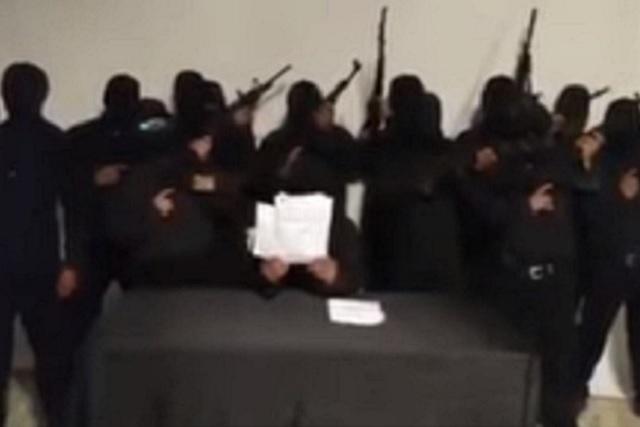 Surge grupo justiciero en Tabasco y advierte que va contra delincuentes