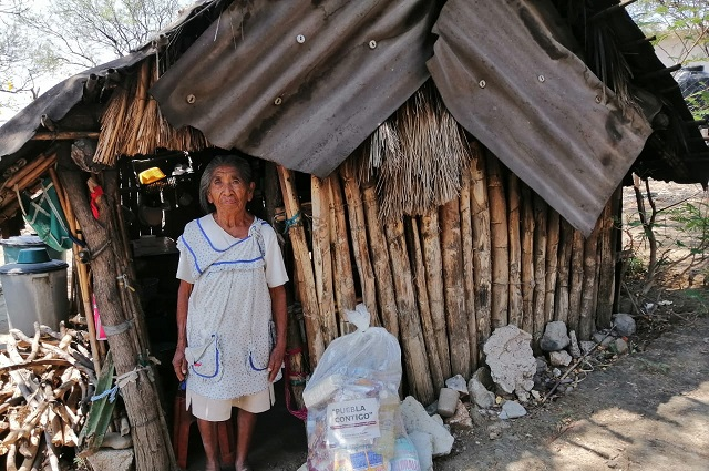 Llegan despensas a sectores vulnerables de Petlalcingo