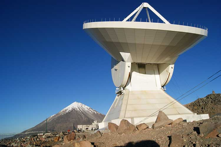Conectan a Gran Telescopio Milimétrico con otros en EU