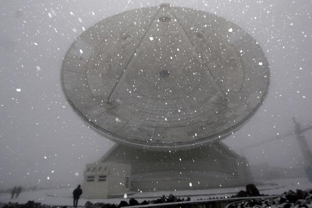 Película de ciencia ficción se filma en el Telescopio Milimétrico