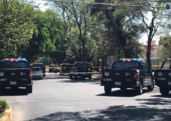 Balacera en Guadalajara deja dos muertos y un herido