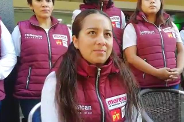 Por acusaciones en Xoxtla, queja de Morena contra Doger