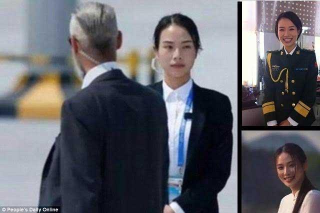 Guardaespaldas más guapa del mundo se llama Shu Xin y es china