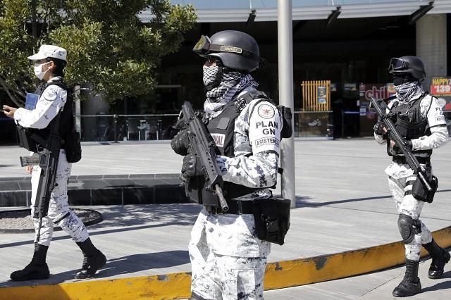 En 18 meses reducen en 50 % personal de la GN en Puebla