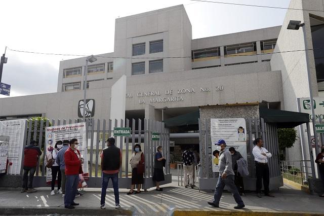 Suspenden consulta externa en hospitales de La Margarita y Tehuacán