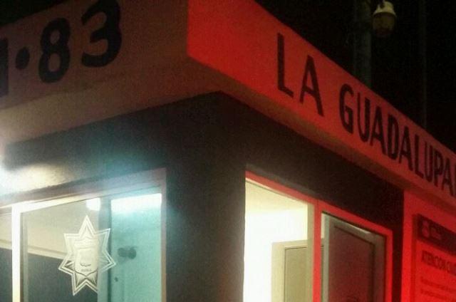 Hieren a guardia de la colonia La Guadalupana