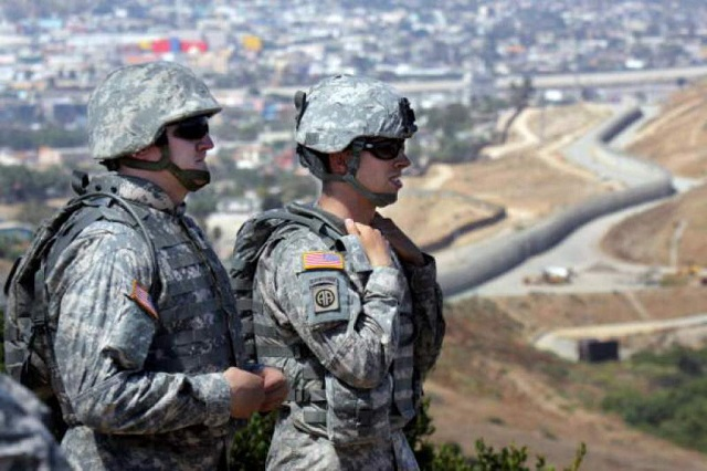 Ordena Trump desplegar en la frontera a la Guardia Nacional