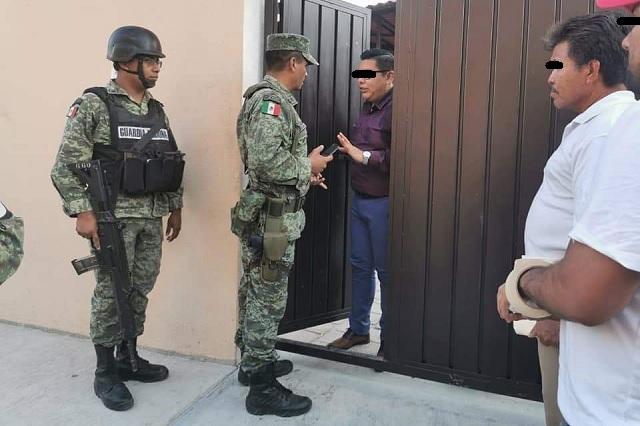Por ignorar cuarentena Guardia Nacional irrumpe en fiesta de XV años