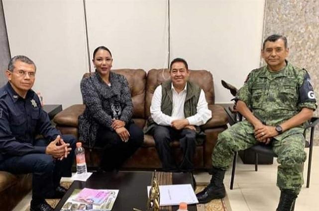 Guardia Nacional inicia operaciones en Amozoc