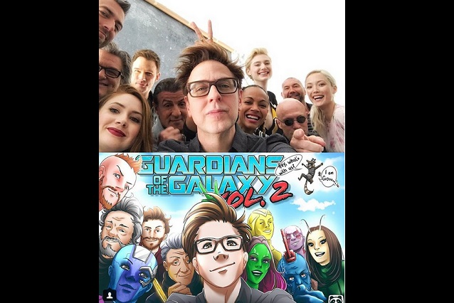 Elenco de Guardianes de la Galaxia pide regreso del director James Gunn