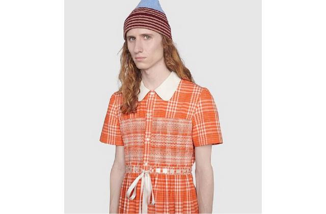 Gucci lanza vestido para hombre: cuesta 2 mil dólares