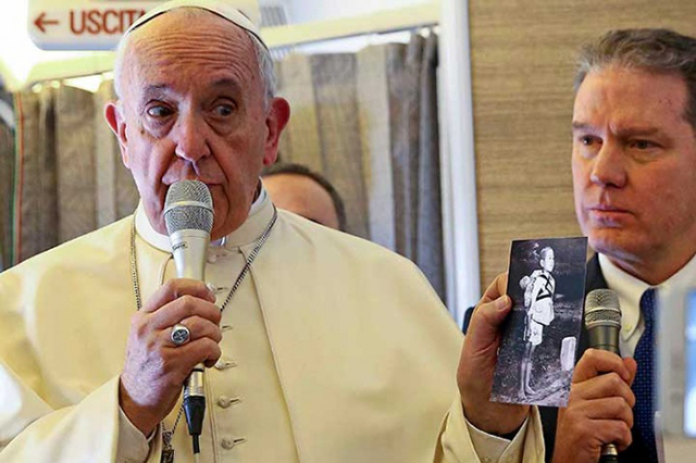 Advierte el Papa que el mundo está en los límites de una guerra nuclear